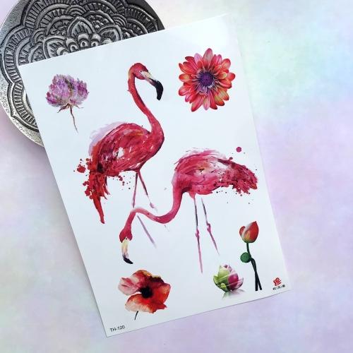 Flamingo Büyük Dövme