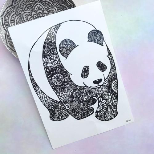 Panda Büyük Dövme