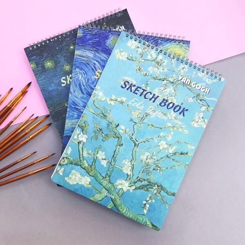 Van Gogh Sketchbook Spiralli A4 40 Yaprak Eskiz Defteri