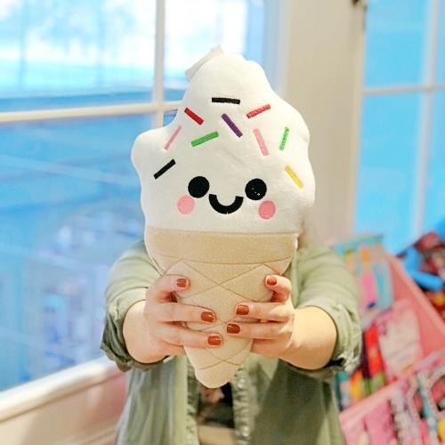 Vanilyalı Dondurma Peluş Yastık