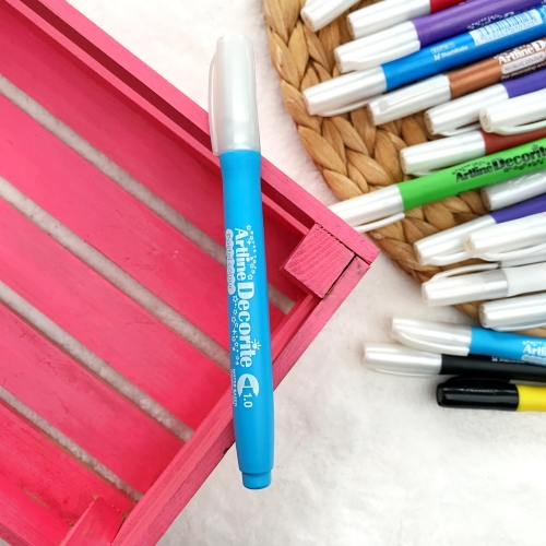 Artline Decorite 1.0 mm Uçlu Markör - Pastel Mavi