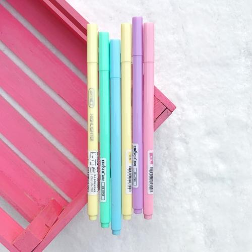 Chosch Soft Pastel İnce Fosforlu İşaretleme Kalemi