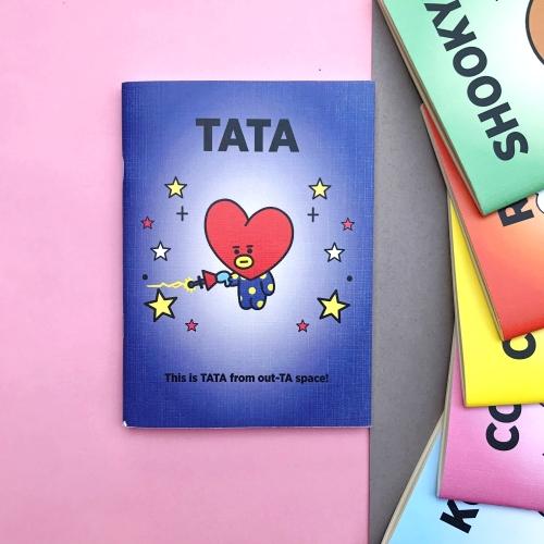 BT21 Tata A5 Defter
