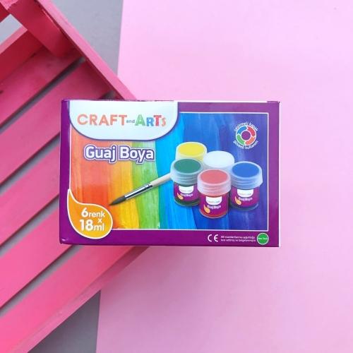 Craft and Arts Guaj Boya - 6lı