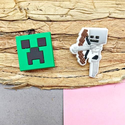 Jibbitz Crocs Terlik Süsü - Minecraft