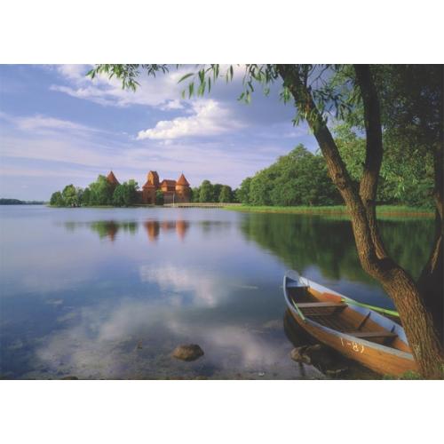 Puzz 500 Parça Puzzle - Sakin Göl