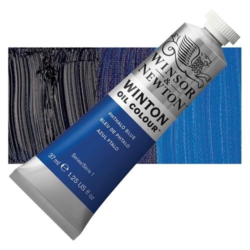 Winsor & Newton Winton Yağlı Boya 37 ml Phthalo Blue 516