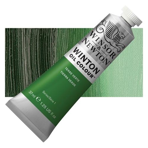 Winsor & Newton Winton Yağlı Boya 37 ml Terre Verte 637