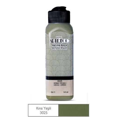 Artdeco Akrilik Boya 140 ML Kına Yeşili - 3025