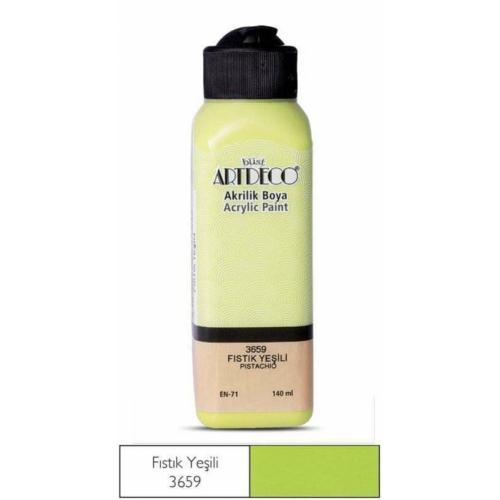 Artdeco Akrilik Boya 140 ML Fıstık Yeşili - 3659