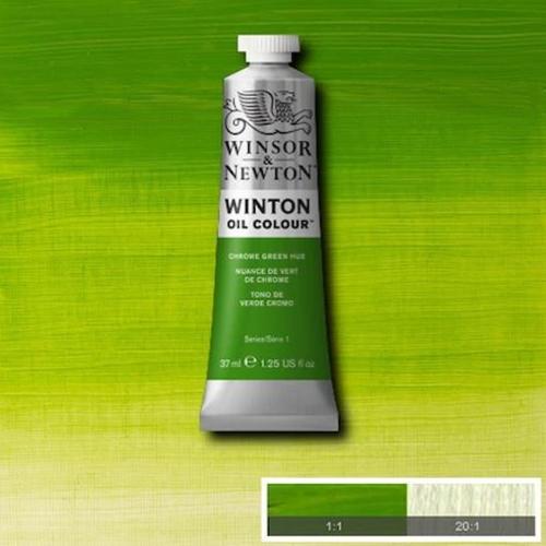 Winsor & Newton Winton Yağlı Boya 37 ml Chrome Green Hue 145