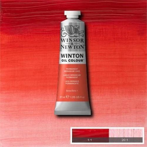 Winsor & Newton Winton Yağlı Boya 37 ml Permanent Geranium Lake 22