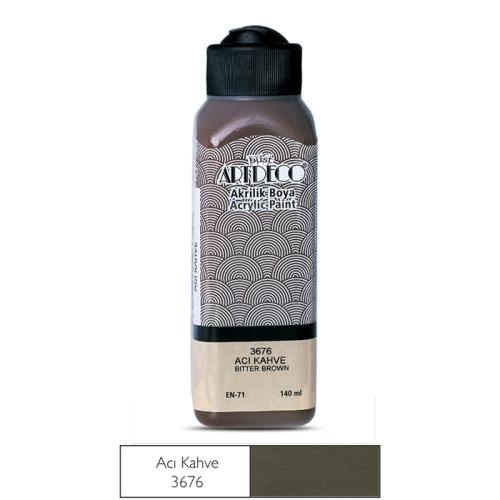 Artdeco Akrilik Boya 140 ML Acı Kahve - 3676