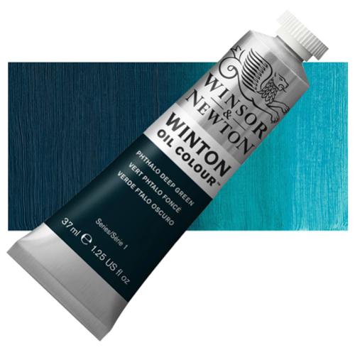Winsor & Newton Winton Yağlı Boya 37 ml Phthalo Deep Green