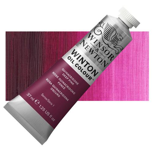 Winsor & Newton Winton Yağlı Boya 37 ml Quniacridone Deep Pink