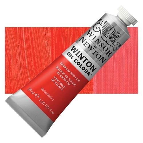 Winsor & Newton Winton Yağlı Boya 37 ml Cadmium Scarlet Hue