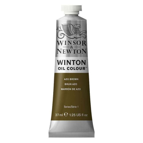 Winsor & Newton Winton Yağlı Boya 37 ml Azo Brown