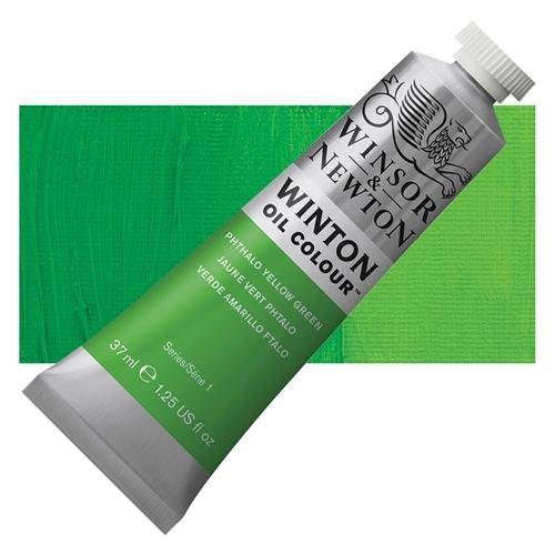 Winsor & Newton Winton Yağlı Boya 37 ml Phthalo Yellow Green