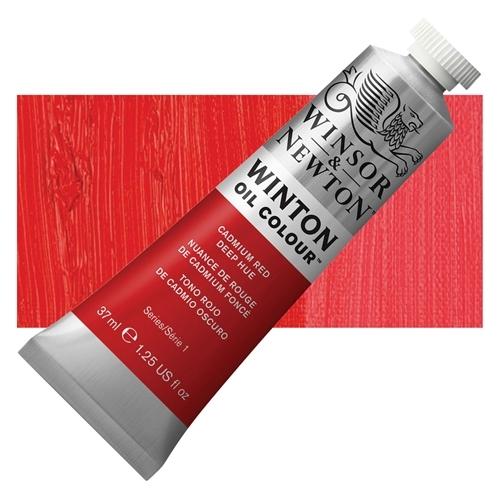 Winsor & Newton Winton Yağlı Boya 37 ml Cadmium Red Deep Hue 06