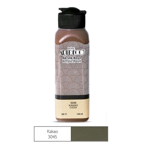 Artdeco Akrilik Boya 140 ML Kakao - 3045