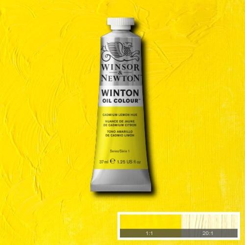 Winsor & Newton Winton Yağlı Boya 37 ml Cadmium Lemon Hue 087