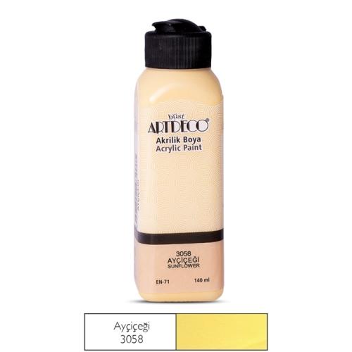 Artdeco Akrilik Boya 140 ML Ayçiçeği - 3058