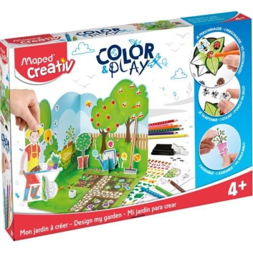 Maped Creativ Boya ve Bahçe Oyun Seti