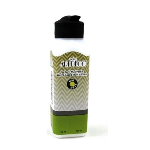 Artdeco Su Bazlı Mat Vernik - 140 ml