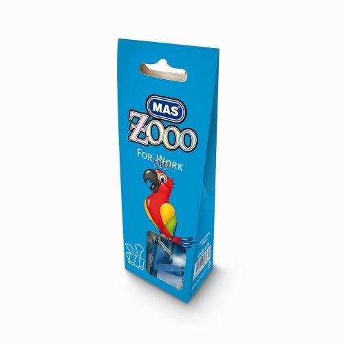 Mas Zoo - Karton Pakette Omega Kıskaç - No25 - Mavi