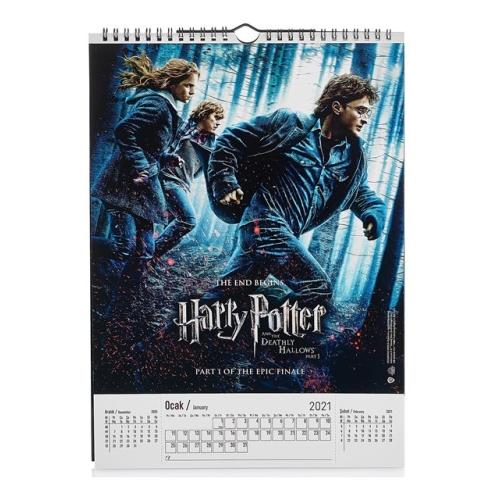 Harry Potter 2021-2022 Duvar Takvimi