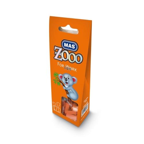 Mas Zoo - Karton Pakette Omega Kıskaç - No25 - Turuncu