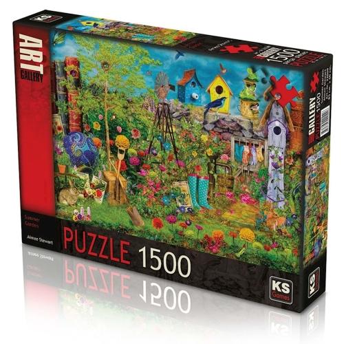 KS Art Gallery 1500 Parça Puzzle - Manzara