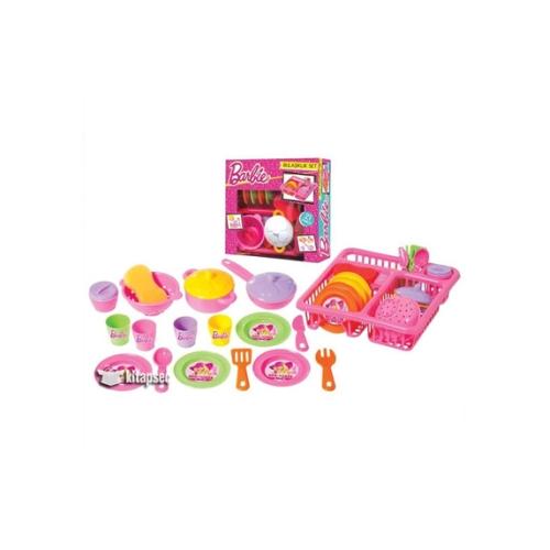 Barbie Bulaşıklık Set