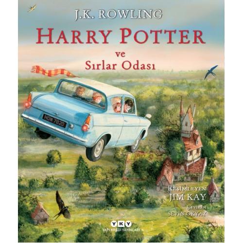 Harry Potter ve Sırlar Odası - Özel Resimli ve Ciltli
