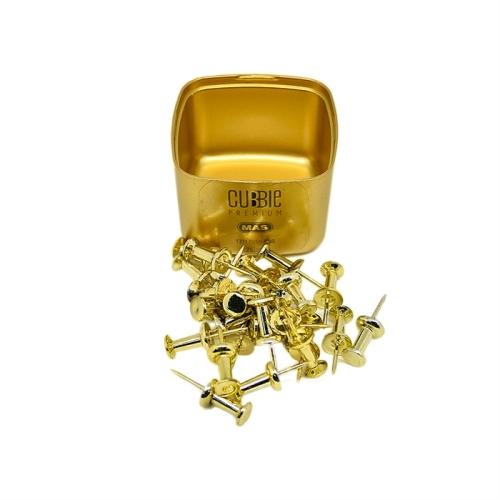 Mas Cubbie Premium Standart Harita Çivisi - Gold