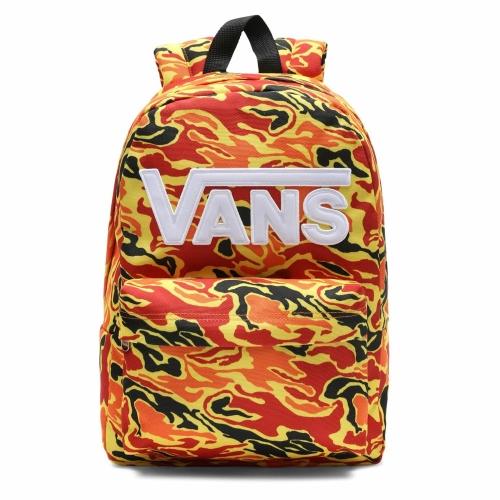 Vans New Skool Boys Sırt Çantası - Flame Camo