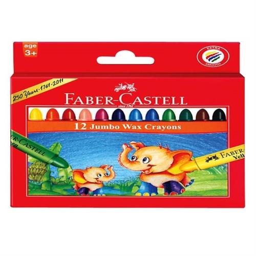 Faber Castell Mum Boya Wax Crayon 12li