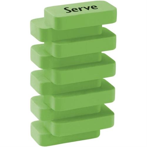 Serve Steps Silgi Pastel Yeşil