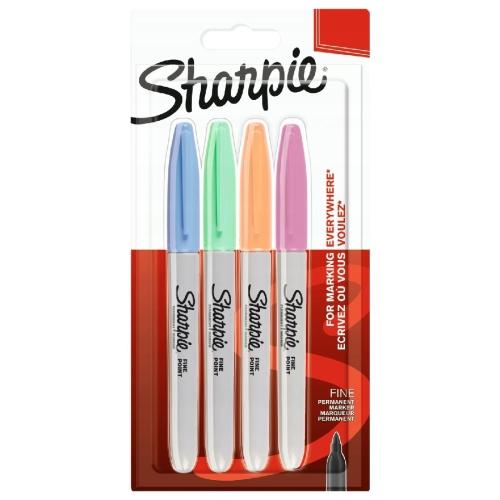 Sharpie Permanent Marker 4lü Set Pastel Renkler