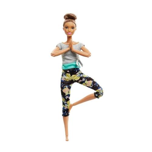 Barbie Made To Move Sonsuz Hareketli Bebek - Kumral