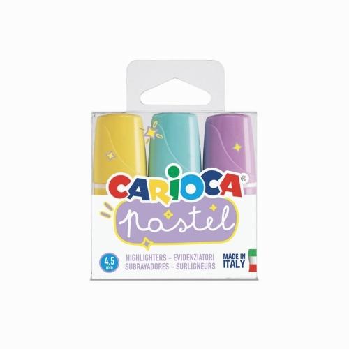 Carioca Pastel 3 Renk Mini İşaretleme Kalemi