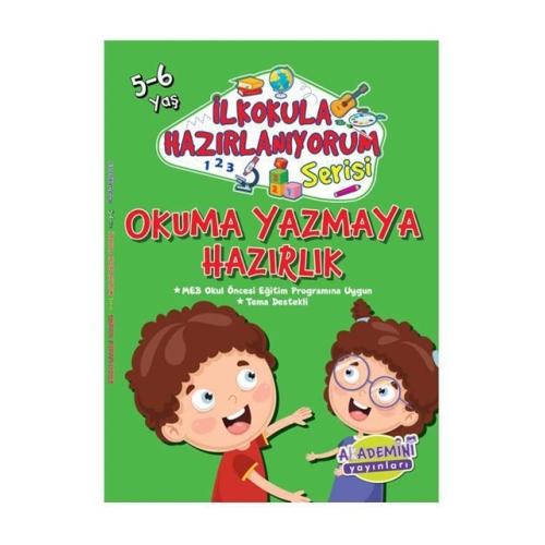 İlkokula Hazırlanıyorum Serisi - Okuma Yazmaya Hazırlık