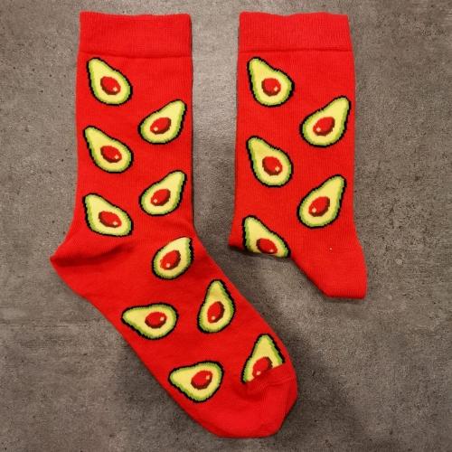 Avokado Kırmızı Çorap
