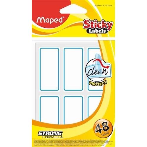 Maped Sticky Labels 25*53 mm Yapışkanlı Not Kağıdı