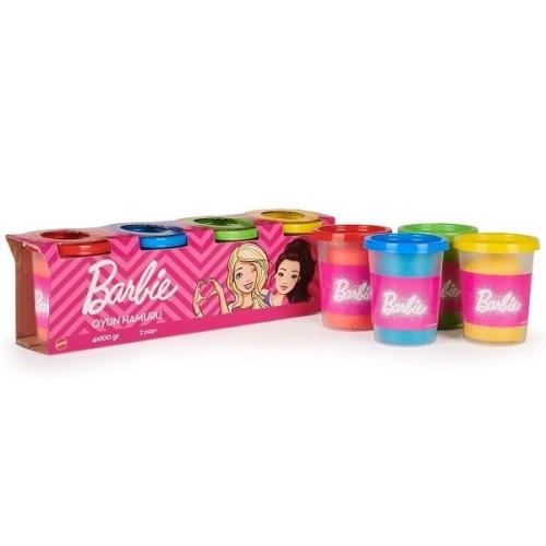 Barbie 4lü Oyun Hamuru Seti