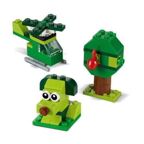 Lego Classic Yaratıcı Yeşil Yapım Parçaları