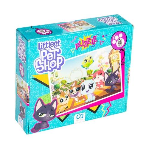 Littles Pet Shop 60 Parça Kutulu Puzzle