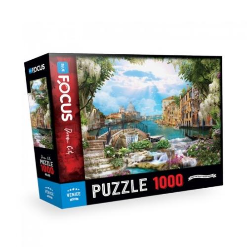 Venedik 1000 Parça Puzzle - Focus