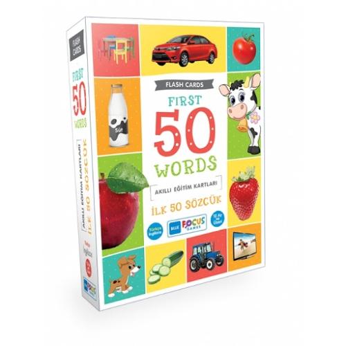 Akıllı Eğitim Kartları - İlk 50 Sözcük