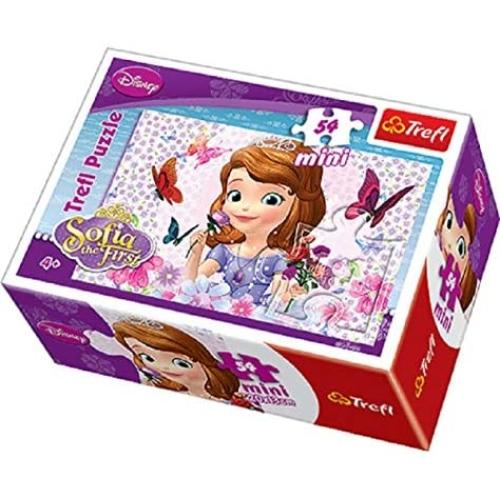 Disney Sofia 54 Parça Mini Puzzle - 19468